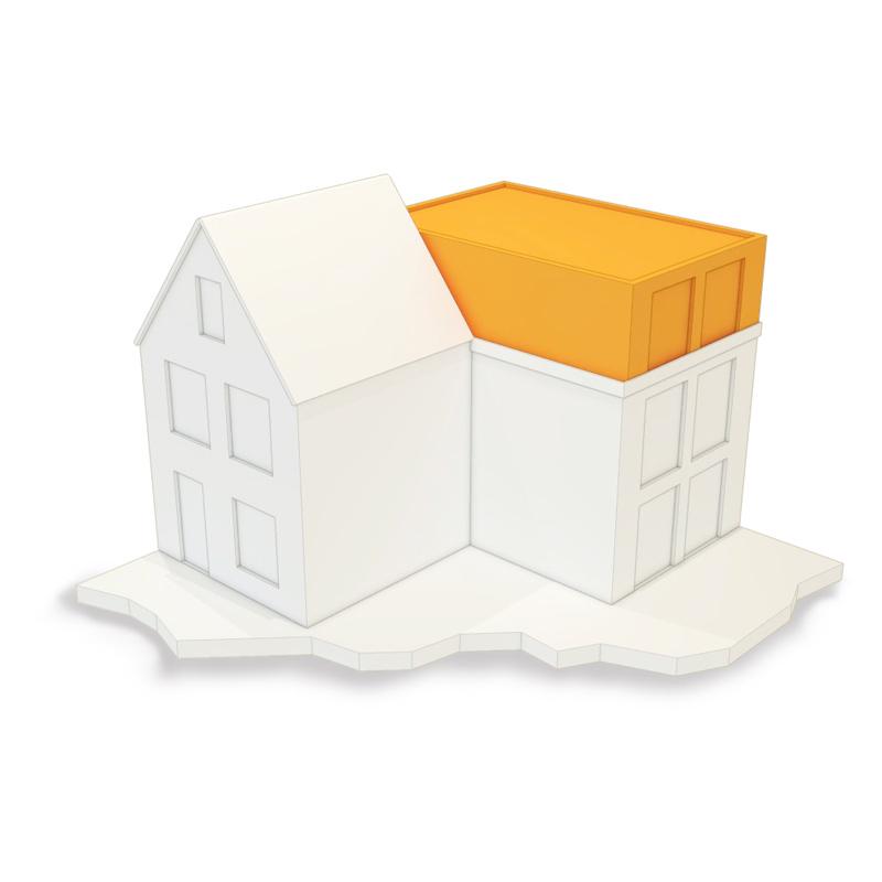 omgevingsvergunning dakopbouw