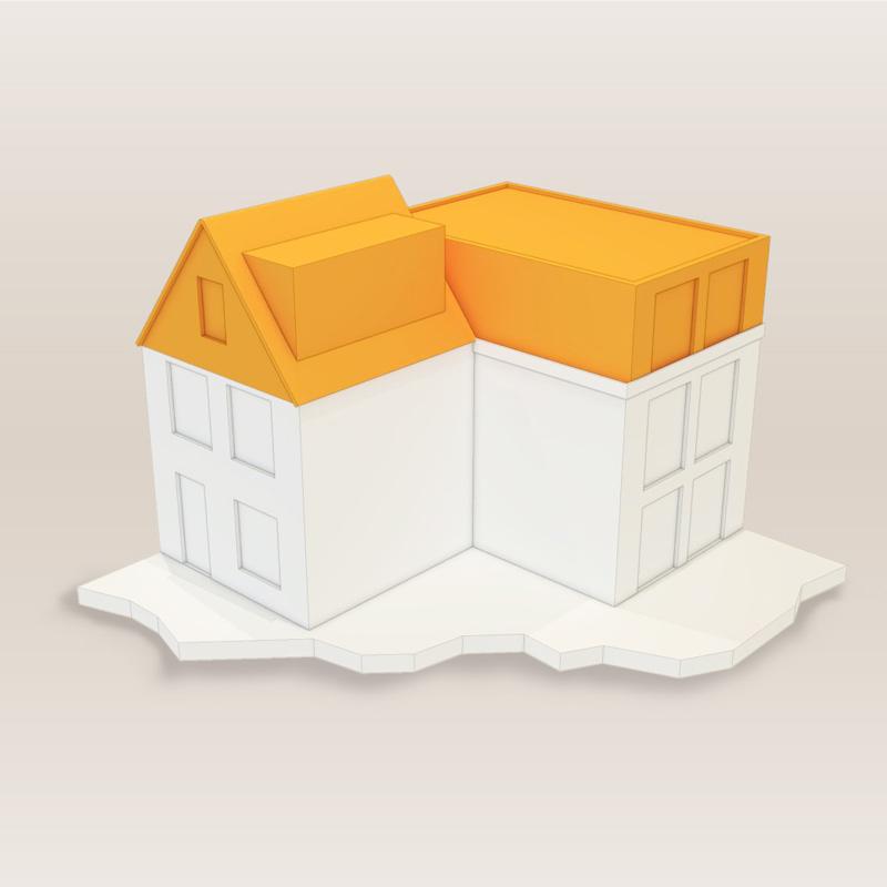 omgevingsvergunning omzetting zolder naar woonruimte