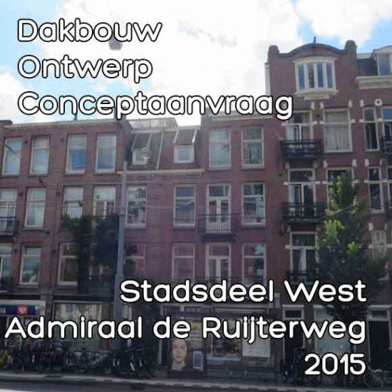 Admiraal de Ruijterweg 89 dakopbouw
