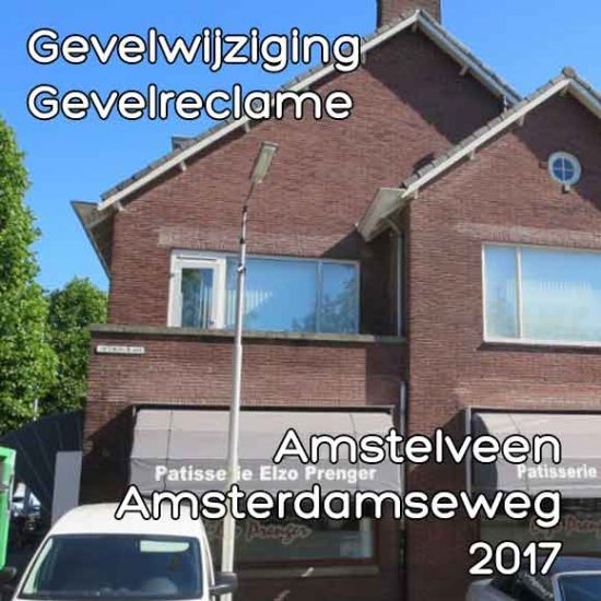 Amsterdamseweg 148 gevelreclame
