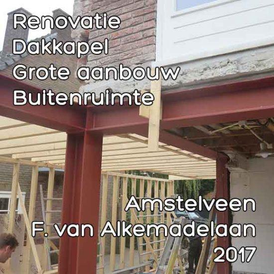 Floris van Alkemadelaan aanbouw - Omgevingsvergunning