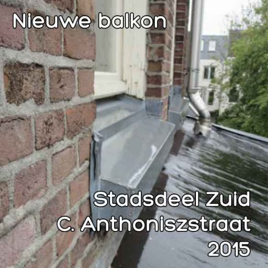 Cornelis Anthoniszstraat 60 balkon