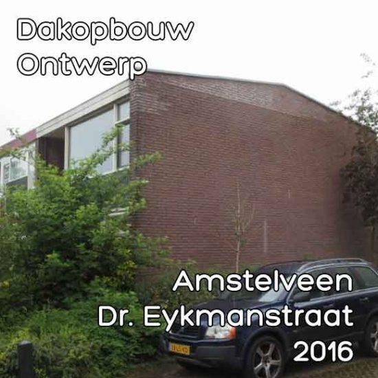 Dr Eykmanstraat 32 dakopbouw