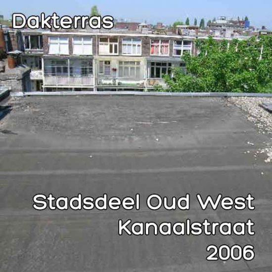 Kanaalstraat omgevingsvergunning dakterras