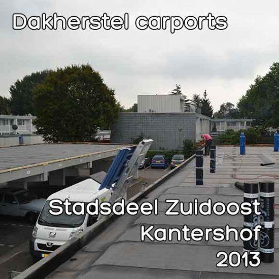 Kantershof omgevingsvergunning dakherstel carports