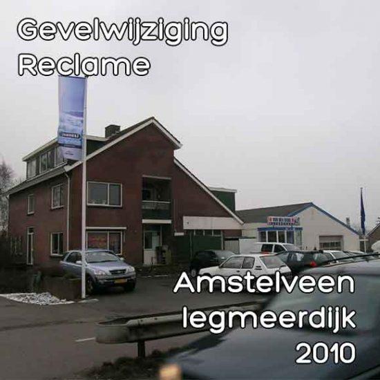 Legmeerdijk bouwvergunning gevelwijziging en reclame