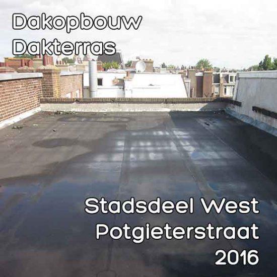 Potgieterstraat omgevingsvergunning dakopbouw
