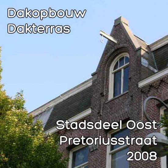Pretoriusstraat omgevingsvergunning dakterras